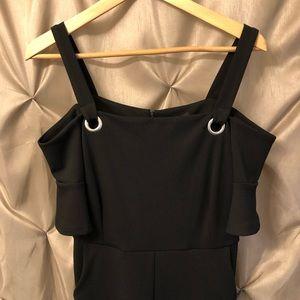 New Look Petite 6P Black Jumpsuit NWT